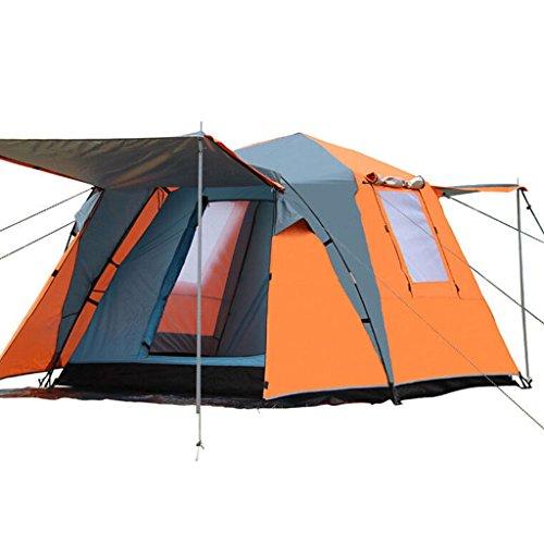 MEI XU Markisentuch Im Freien 3-4 Leute-doppelte kampierende automatische Zelte im Freien doppelte Boden-Campingzelt-Satz @ (Design : A)