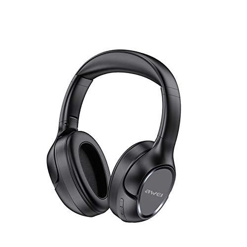 Bluetooth Kopfhörer Sport, Spielzeit Bass Sports Headset, Kopfhörer Kabellos Sport, In Ear Ohrhörer Wireless Earbuds, Kabellos Noise Cancelling, Für Laufen Videokonferenz Business