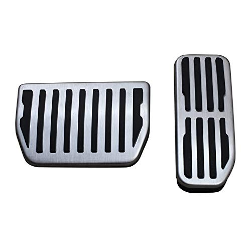 Mmhot For Jag-UAR Pedal F-E-Pace Pace XE XF Range Rover Evoque Velar Land Rover Discovery Deporte Gas Freno Cover Set Accesorios