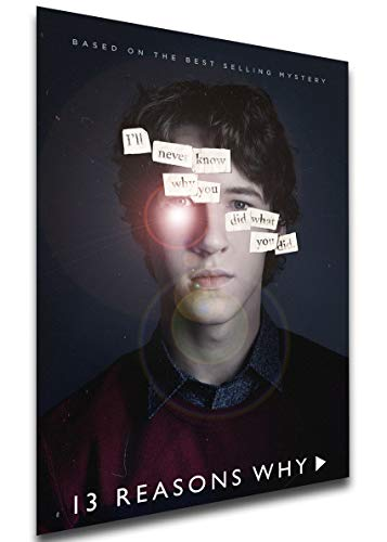 Instabuy Poster - TV Series - Playbill - 13 Reason Why Variant 05 Manifesto 70x50