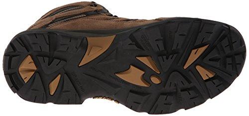 Hi-Tec Men's Bandera Mid Waterproof Hiking Boot, Bone/Brown/Mustard, 11 M US