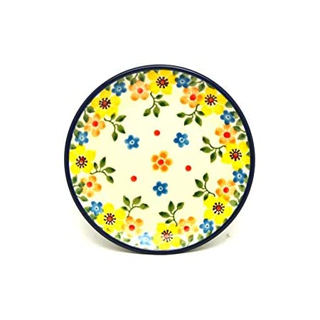 Polish Pottery Coaster Primrose Coasters