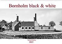 Bornholm black & white (Wandkalender 2022 DIN A2 quer): Impressionen von der wunderschoenen Insel Bornholm in schwarz-weiss. (Monatskalender, 14 Seiten )