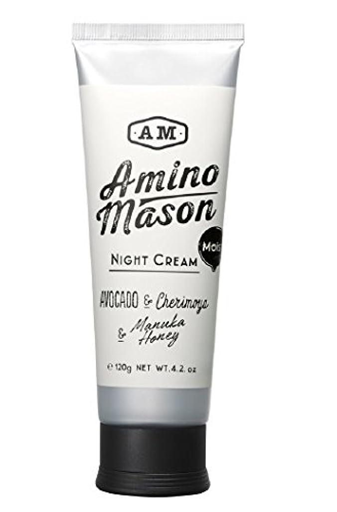 枯渇する悲しみ拡散するアミノメイソン モイストナイトクリーム 120g