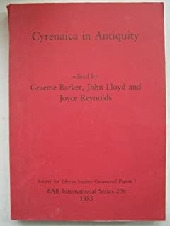 Cyrenaica in Antiquity (Society for Libyan studies occasional papers)