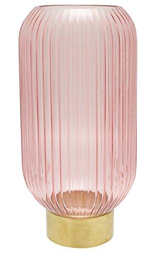 GreenGate Gate Noire Vase fluoté Rose/rose Hauteur 31 cm