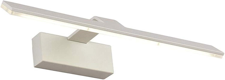 FUBON Wall lamp moderne led spiegel scheinwerfer acryl schminktisch spiegelleuchte (Farbe   Weiß light-42cm)