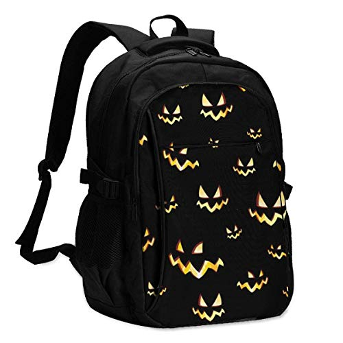 IUBBKI Bolsa para computadora mochila USB Pattern for Your Design Projects Office & School Supplies with USB Data Cable and Music Jack Laptop Bags Computer Notebook 18.1X13.3 inch
