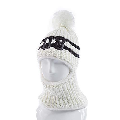 SAONIAN Sombrero de Invierno Nuevas Mujeres Winter Plus Velvet Hat 08 Letter Protección para los oídos Pasamontañas Moda Warm Winter Hat para Mujeres 3 Método de Uso