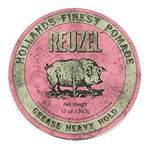 Reuzel Pomada rosa Heavy Hold Grease 5 unidades de 340 g