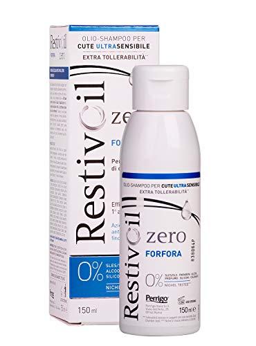 RestivOil Zero Shampoo Olio Antiforfora per Capelli Per Tutti i Tipi di Capelli - 150 ml