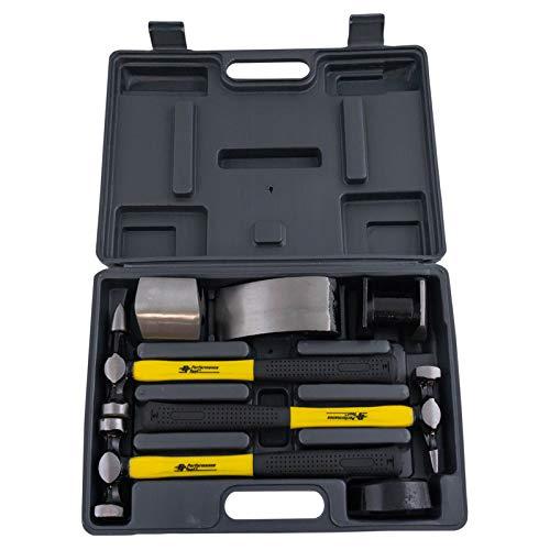 7 Piece Hammer & Dolly Set Auto Body Repair Kit New