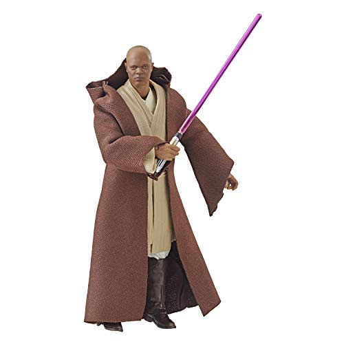 Hasbro Star Wars The Black Series: Revenge of The Sith - 6'-Scale Mace Windu Figure