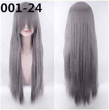 80Cm Long Wigs High Temperature Great interest Fiber Excellence Cos Costume Synthetic