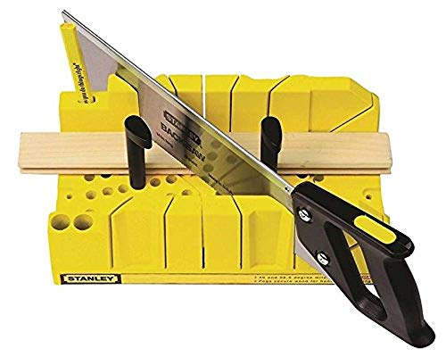 STANLEY Clamping Mitre Box w/Saw Model 20-600