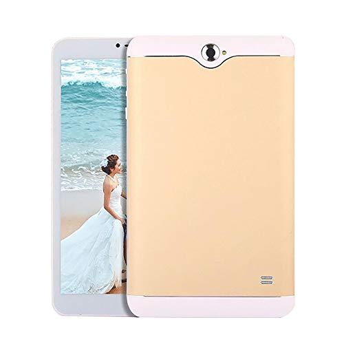 LHONG Tablet 7 Pulgadas Tableta de Procesador Quad-Core, 8GB ROM y 4G RAM, Cámaras duales, Android 7.0, WiFi, Pantalla HD IPS, GPS, Bluetooth