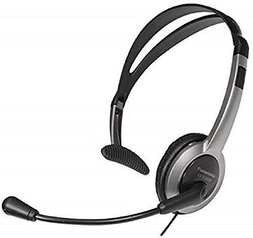 Panasonic RP-TCA430E-S - Auriculares de diadema abiertos para para teléfonos con conector de 2.5 mm, plateado