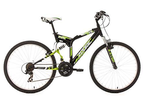 KS Cycling Mountainbike MTB Fully 26'' Zodiac schwarz RH 48 cm