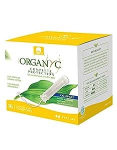 Organyc 100% Organic Cotton Compact Organic-Based Applicator Tampon