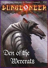 Atlas Games 1244 - Dungeoneer, el Consejo de la del Hombre Lobo
