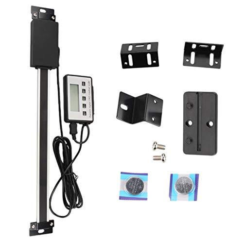 Cuasting 6 pulgadas remoto digital DRO gran LCD escala de lectura medición rango 0-6 pulgadas vertical para Bridgeport Mill Torno