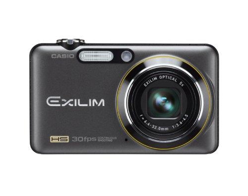 Casio Exilim EX-FC100 - Cámara Digital Compacta 9.1 MP (2.7 Pulgadas LCD, 5X Zoom Óptico), Negro