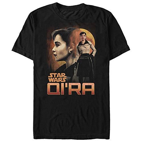 Solo: A Star Wars Story Men's Qi'ra Sunset Black T-Shirt