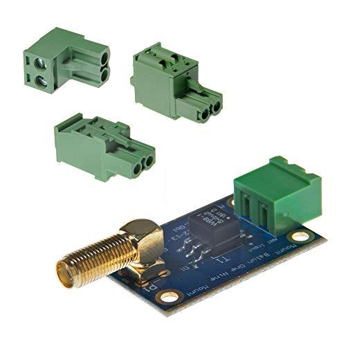 Balun One Nine v2 barebones – kleine, voordelige 9:1 (1:9) HF-antenne Balun en Unun met antenne-ingang bescherming voor korte golf. Uitstekend geschikt voor software Defined Radio (RTL-SDR) & SDRPlay