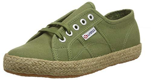 SUPERGA 2750-COTROPEU, Zapatillas para Mujer, Verde Green Capulet Olive B63, 36 EU