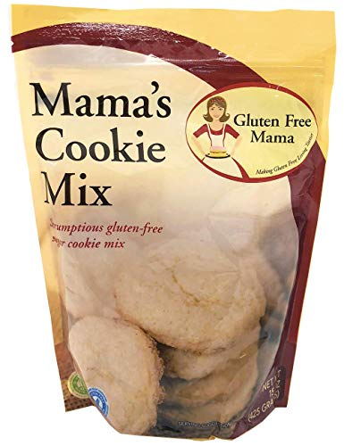 Gluten Free Mama's: Sugar Cookie Mix - Non-Gritty and Smooth - Certified Gluten Free Ingredients - All Purpose - Safe for Celiac Diet - Easy to Store