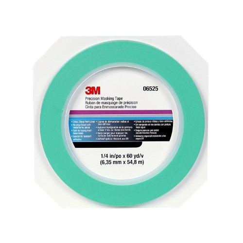 3M Precision Masking tape, 06525, 1/4' x 60 yds
