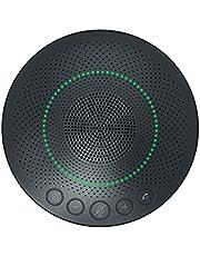 Uervoton スピーカーフォン 会議用 PC用マイク スピーカーマイク 6つの高感度集音マイク搭載 Bluetooth対応 360˚全方向集音 全指向性集音マイク USB接続 ノイズキャンセリング オートゲインコントロール 8-16名対応 オンライン会議 テレワーク 在宅 会議用システム ウェブ会議 テレビ会議 ビデオ会議 Skype/ZOOM/Facetime通話アプリ/ゲーム実況対応 18ヶ月の保証期間 日本語取扱説明書