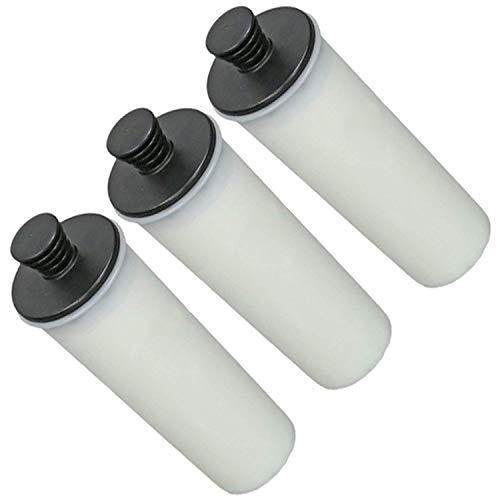 Spares2go filtercartridge ontkalker voor stoomreiniger Karcher SC3 (3 stuks)