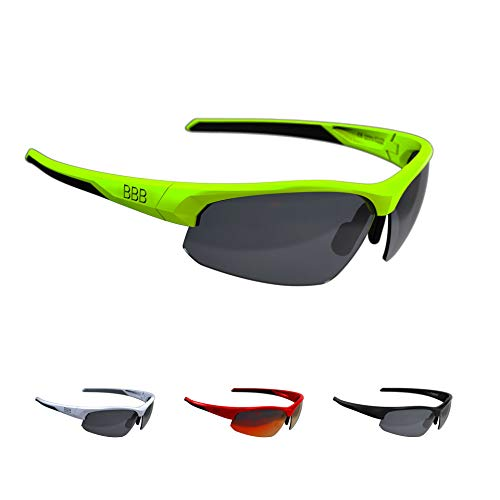 Bbb Cycling BSG-58 BBB-Gafas de Ciclismo para Hombre y Mujer (policarbonato), Unisex...