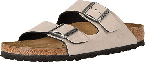 Birkenstock Unisex Arizona Stone Sandals - 45 EU Narrow
