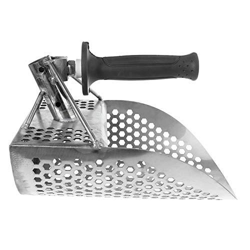 Starall Pelle à Sable en Acier Inoxydable avec Trous hexaèdre pour détection de métaux et Chasse au trésor 220 mm + poignée en Plastique