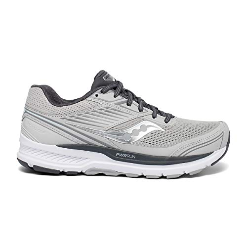 Saucony Womens Echelon 8 Alloy/Charcoal, 10 Wide