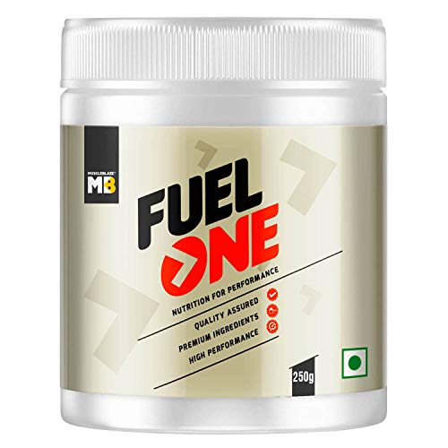 MuscleBlaze Fuel One BCAA 2:1:1, Nutrition for Performance, 5 g BCAAs (Fruit Punch, 250 g / 0.55 lb, 37 Servings)