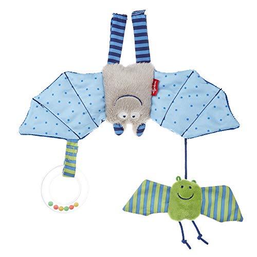 SIGIKID 41013 Anhänger Fledermaus Urban Mädchen und Jungen Babyspielzeug empfohlen ab Geburt blau
