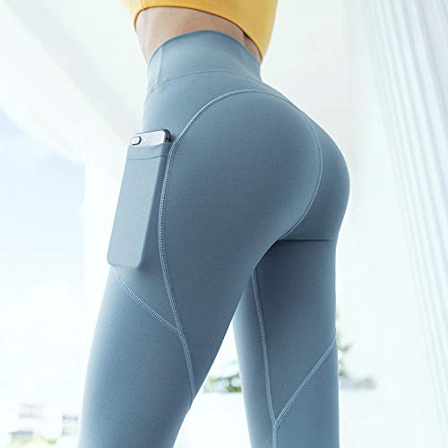 Loungebroek voor Yoga Summer Beach,Peach heupen fitnessbroek, strakke strakke sneldrogende trainingsbroek-donkergroen_L,Stretch Gym Workout Running Legging