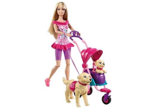 Barbie - Pasea A Sus Perritos (Mattel)