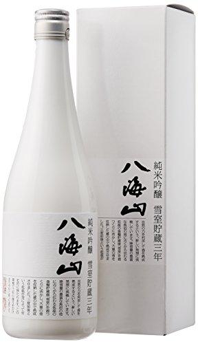 八海山 純米吟醸八海山 雪室貯蔵三年(箱入)