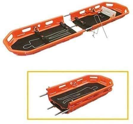 FDSAD Hochleistungstrage aus Aluminiumlegierung, Rettungskorb mit Trage und Tragegurt für Sport und Rettung 650 Lb 86