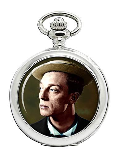 Buster Keaton Full Hunter reloj de bolsillo