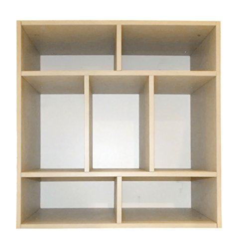 DLM Monica Lazzari Système de Rangement Design 7-Compartment Unité