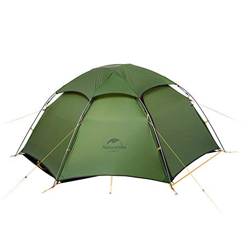 Mdsfe Naturehike cloud peak tent ultralight two man camping hiking outdoor NH17K240-Y-Green,A3