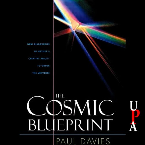The Cosmic Blueprint audiobook cover art