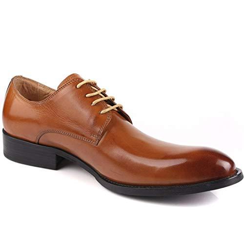 Lederen Ronde hoofd Veterschoenen formele schoenen zakelijke schoenen klassieke casual jurk schoenen casual schoenen