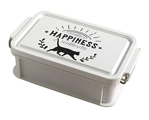 Abeille Lunch Bento Box 600ml Happiness Japan AJX-1401