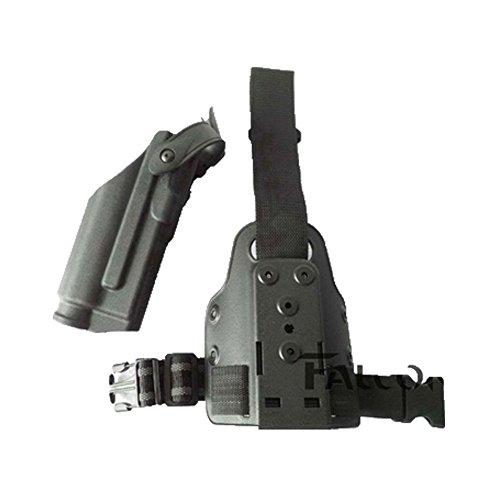 dtit Hunting Light Bearing M6 TLR-2 Leg Holster for Glock 17 19 22 23 31 32